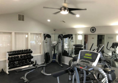 Wonderful fitness amenities with quality equipment exclusively for Pointe North apartment residents