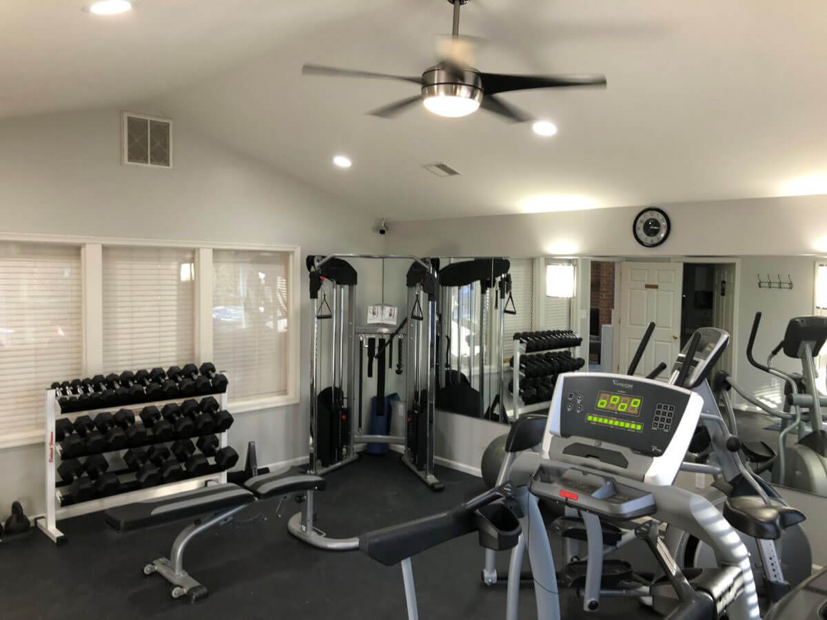 Pointe North Clubhouse Gym